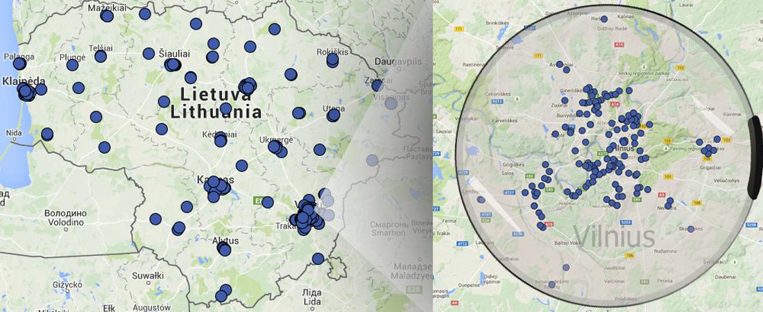 map biosistema
